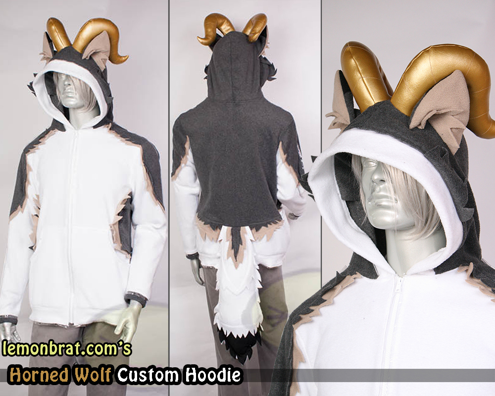 Custom Showcase: The Horned Wolf and Irime Zane   lemonbrat blog