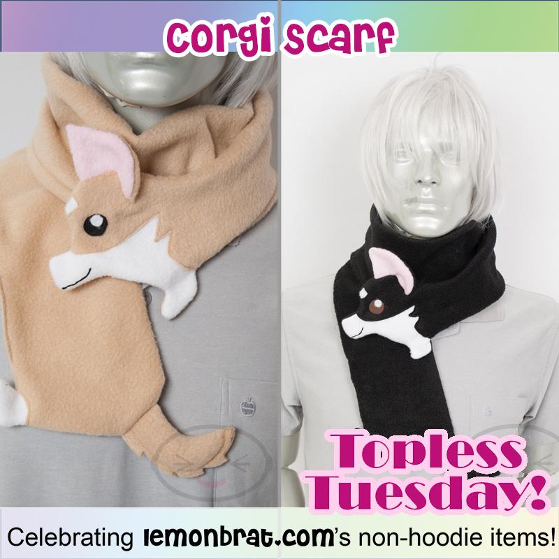 corgi scarf TT