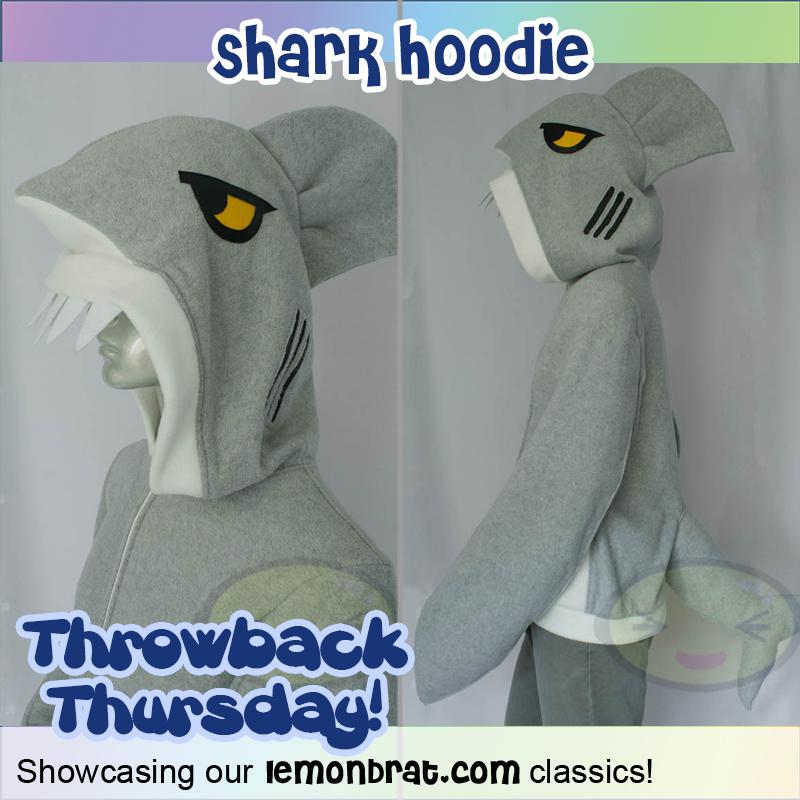 shark hoodie TBT